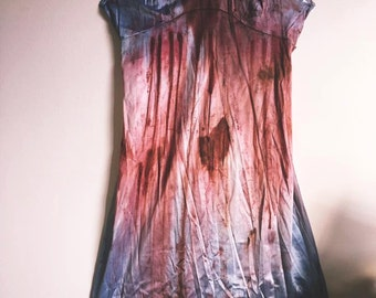 Special FX Zombie Pinup Haunted House Halloween Bloody Negligee Costume