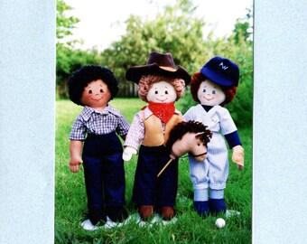 Boys Only - Cloth Doll Pattern (PDF)