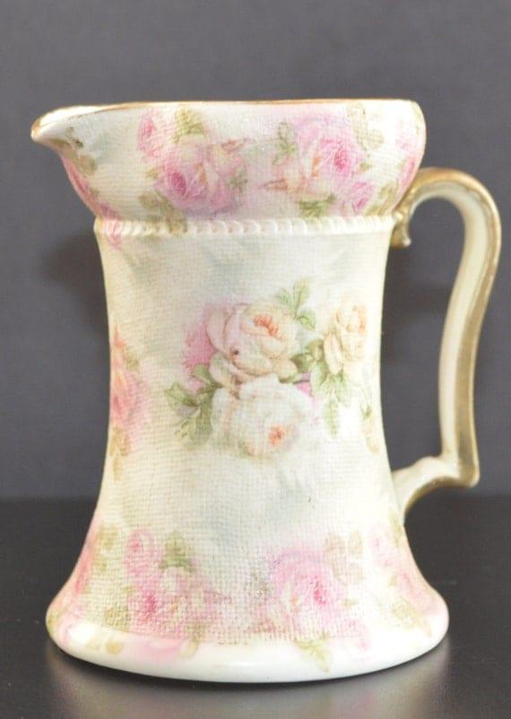 royal bayreuth rose tapestry pitcher. Black Bedroom Furniture Sets. Home Design Ideas