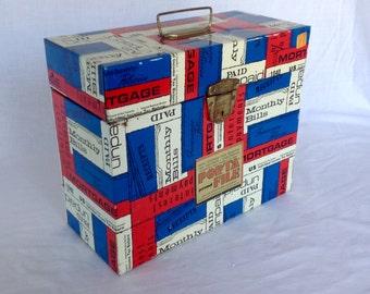 Patriotic Pop Porta-File with Key