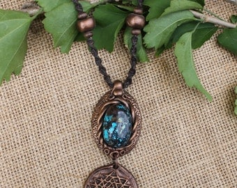 SALE - Hand Made Chrysocolla Necklace