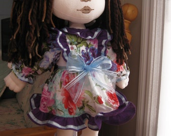 Cloth doll 19 inches