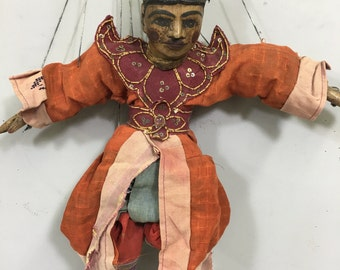 Burmese puppets marionettes