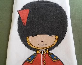 London Royal Guard Tea Towel