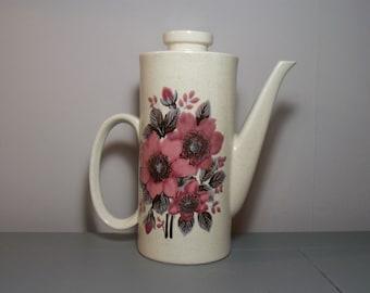 Lord Nelson Coffee Pot in New Dawn Design/Floral Pot/Nelson Tea Pot/Lord Nelson New Dawn/Retro Dining/Retro Kitchen/Mid Century Modern