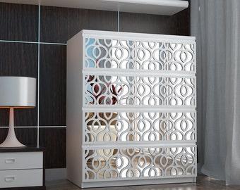 Furniture Hardware - Furniture Stencil - Furniture Decals - Furniture Paint - Furniture Appliques - Furniture Overlays - Panel - SKU:HARMI