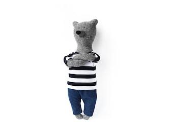 Lars The Bear. Stuffed Bear. Child friendly toys. Soft Bear - Best Friend for kids