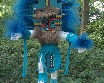 Hemis Kachina Doll, Navajo Katsina, Hopi Katcina, Native American Hemis Kachina, Navajo crafts, Navajo Artwork