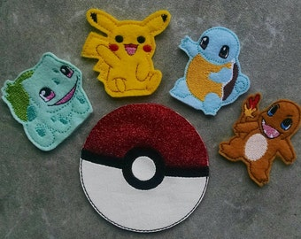 Catch 'em All Finger Puppets and  Carrying Case