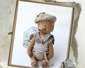 Pattern Teddy bear seaman