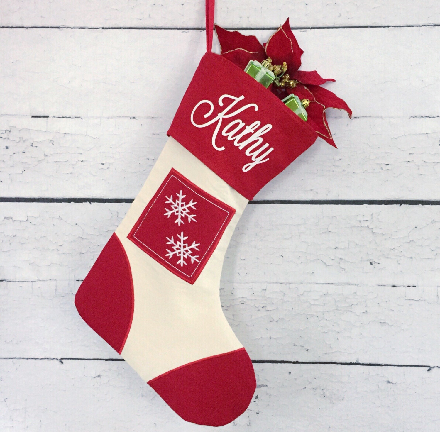 Personalized Christmas Stocking Christmas Stocking