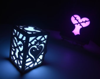 Kingdom Hearts Video Game Color Changing Luminary