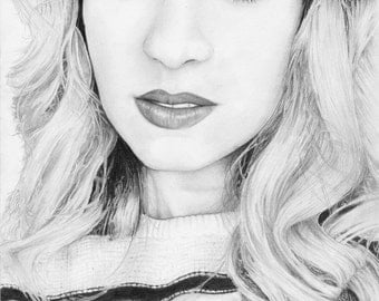 PRINT. of Barbara Dunkelman sketch
