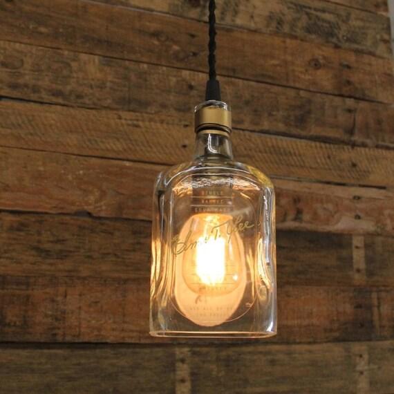 Elmer T. Lee Bourbon Pendant Light, Valentine's Day Whiskey Present, Valentine's Guy Gift, Bourbon Lamp, Whiskey Bottle Light, Gift For Men
