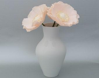 Peach Poppy Flowers - Trio Bloom Decor