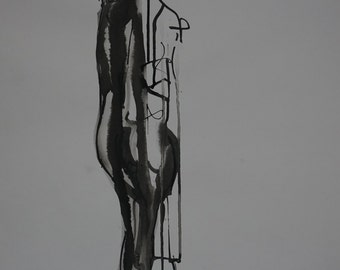 Indian Ink Life Drawing