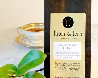 Organic Tea: CHAI | Herbal, Loose Leaf | Large (4 oz)