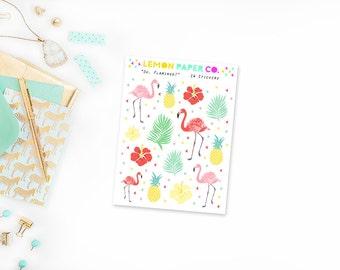Oh, Flamingo! // Deco Stickers