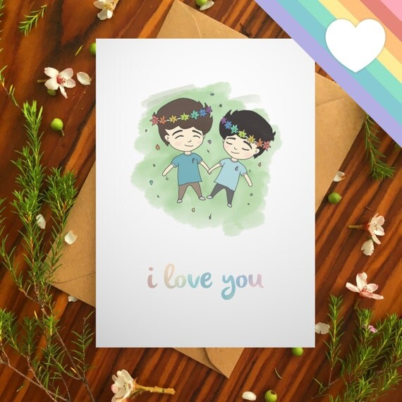 from Luca gay sex e card