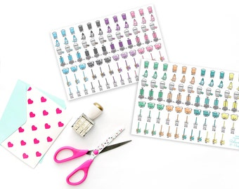 Kawaii Housework/House Cleaning Planner Stickers for Erin Condren, Plum Planner, Inkwell Press or Filofax Planners