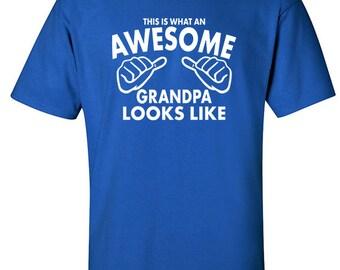 Grandpa Shirt | Grandpa Gifts | Awesome Grandpa | Gift Idea Grandpa | Gifts for Grandpa | Grandparents Gifts | Presents for Dad | #108