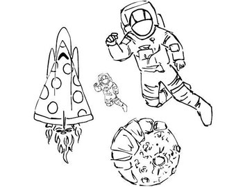 Space Camp Tattoos