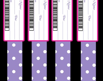 Doc McStuffins Party Hospital Bands for Toys - Digital Download