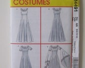 McCall's M4491 Medieval Costume Dress Pattern
