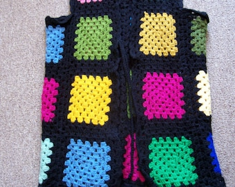 Glass Stain Crocheted Vest Pattern