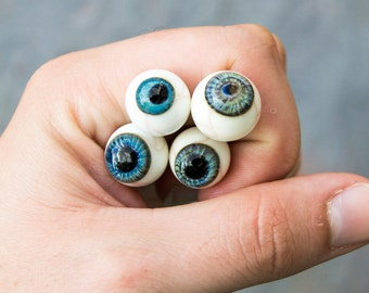 Handmade Glass Lamp Work Eyeball Headpin Beads, Eyeball Headpins, Eyeball beads, Glass Eyeballs, Handmade Glass Eyeballs