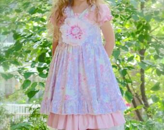 PDF Pattern Ruffle Trimmed Pinafore Dress MADELEINE Juvie Moon Designs   Custom Butique