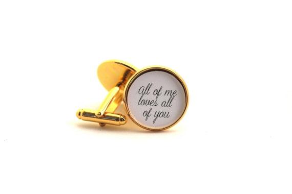 Mens Cufflinks, Anniversary Gift, Gift for Husband