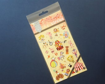 circus stickers - daisyland stickers