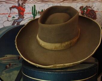 1930s Wonderful old Tucson Cowboy hat