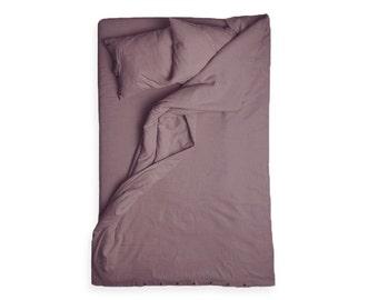 Linen duvet Light purple linen duvet cover Queen size bed linens King size bedding Double Twin or full size duvet covers