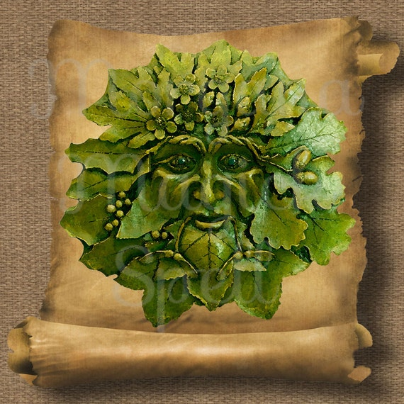 Green Man  Royalty Free Clip Art