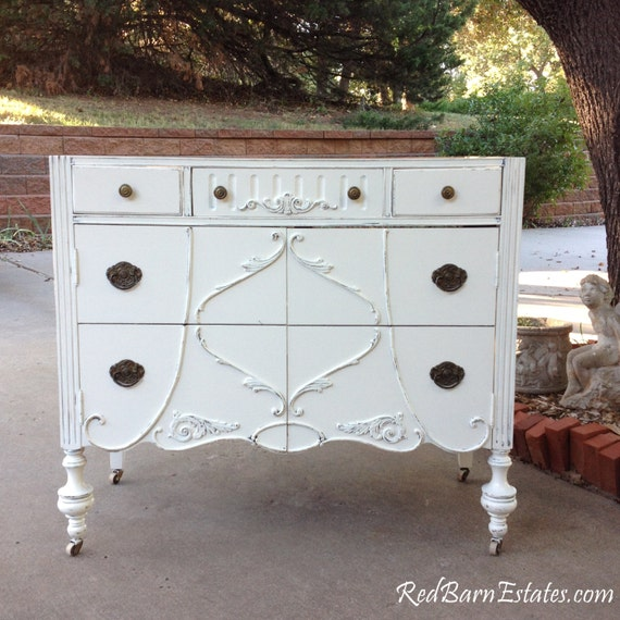 Antique Bathroom Vanity Dresser Custom Found Converted To