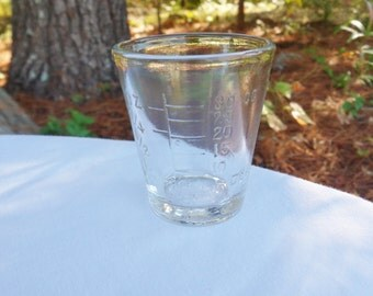 Medicine Measuring Glass, Dessert Medicine Dosage Glass, Medical Apothecary