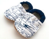 baby map shoes, navigator tula booties, soft soled shoes blue and white booties with planes airplane baby world map baby clothes with planes