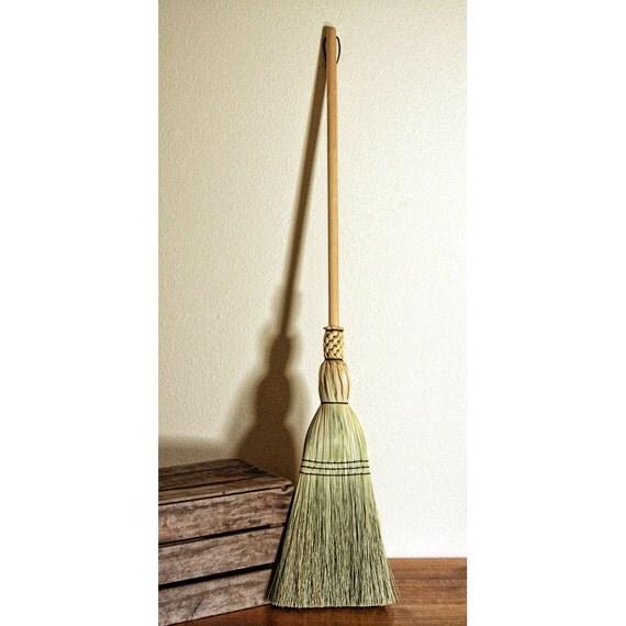 Shaker Floor Broom - Hand Made Broom - 100% Broom Corn - Traditional ...