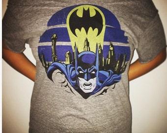 Batman off the shoulder t-shirt