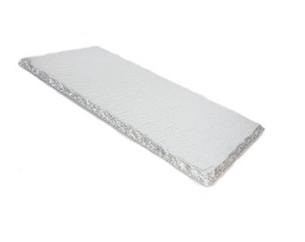 Small Silver Slate Tray (1pc)