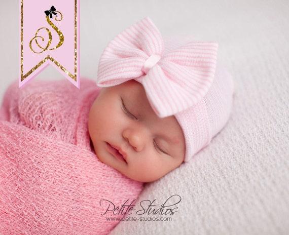 Baby Hospital Hat Girl Hospital Hat Newborn Girl Hat