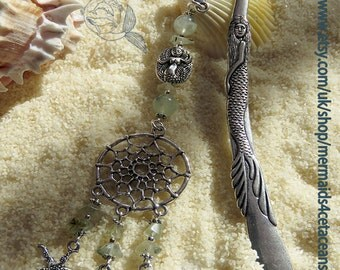 Starfish dreamcatcher bookmark