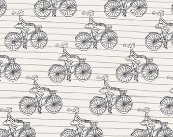 Bicycle Fabric Etsy