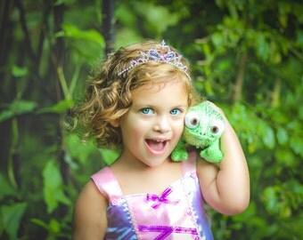 Rapunzel Crown, Rapunzel Purple Crown ,Rapunzel Tiara ,Rapunzel Costume ,Princess Rapunzel Tangled Tiara Crown Inspired By Rapunzel Dress