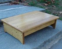 unique platform bed related items etsy. Black Bedroom Furniture Sets. Home Design Ideas