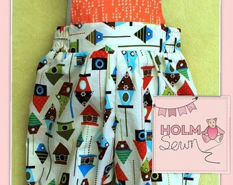 Handmade romper, 9-12 months (can also make to order)