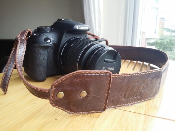 Leather Camera Strap Customizable and adjustable Camera - photo#12