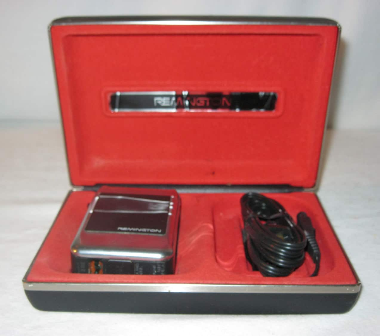 Collectible Kobler Electric Shaver with Travel Case